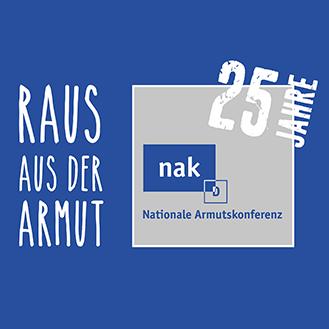 Download der Broschüre 25 Jahre Nationale Armutskonferenz